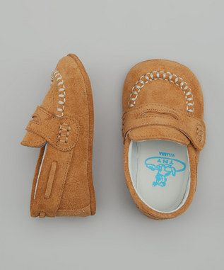 TNY by Tinny Shoes - Deer Velcro Moccasin