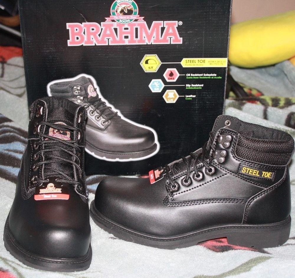 f6eaf65d8c9 Brahma Men's Gus Steel Toe Work Boot NEW SZ 7.5 #BRAHMA #WorkSafety ...