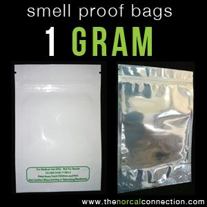 Smell Proof Air Bags For 1 Gram Mmj Whole Retail Www Thenorcalconnection