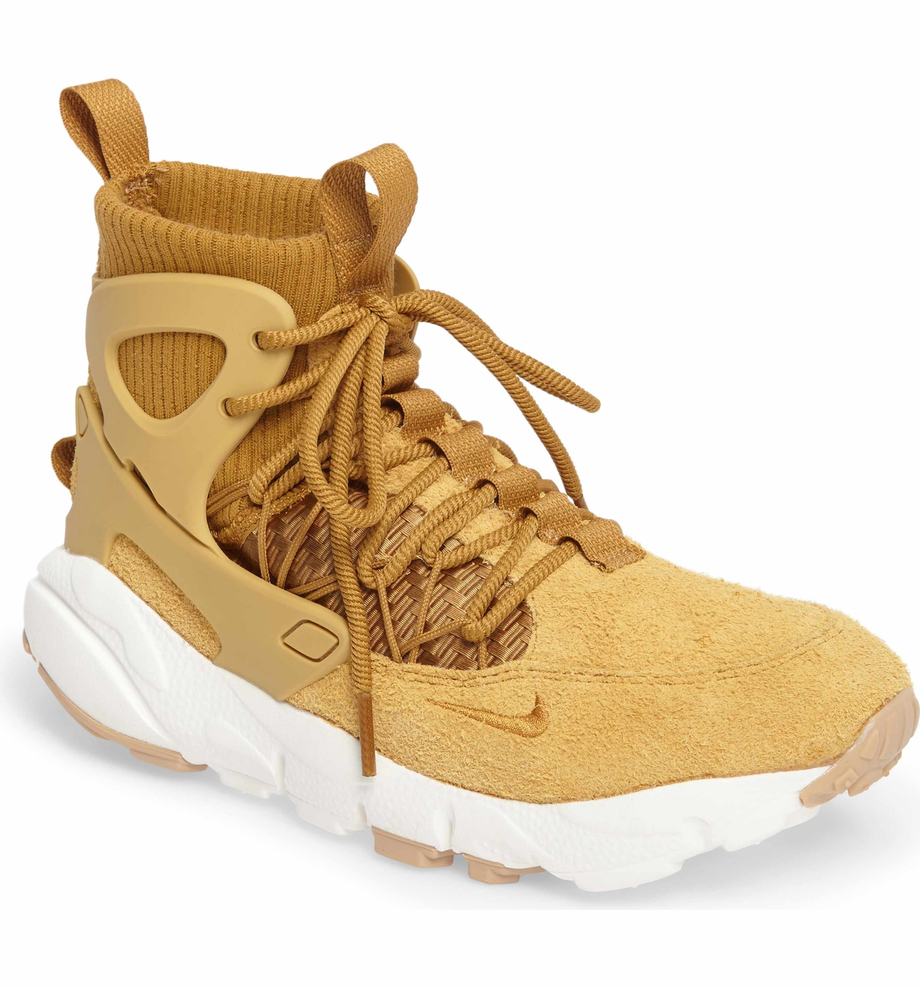 Nike air footscape mid sneaker boot women nordstrom