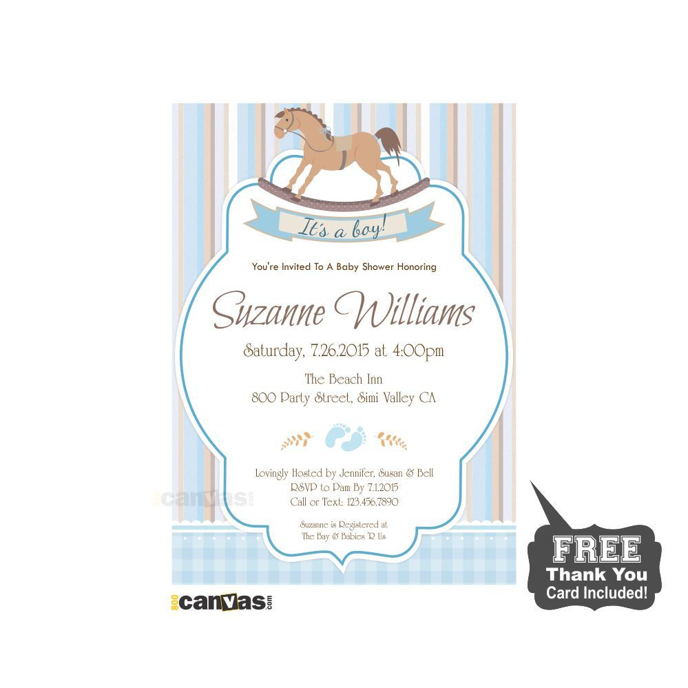Horse baby shower invitation its a boy baby shower invite retro rocking horse baby shower invitation baby shower invite retro horse toy baby boy shower invite any custom color diy digital printable 40 by 800canvas on filmwisefo