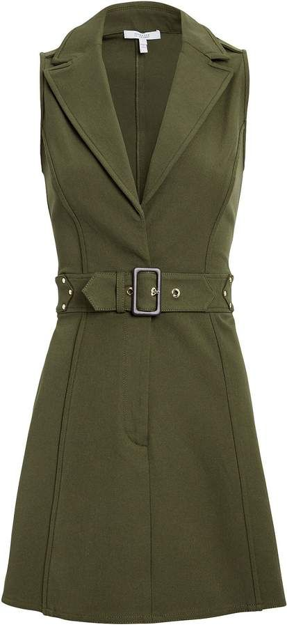 5930339d Derek Lam 10 Crosby Army Belted Trench Dress - ShopStyle ad where I get  paid from