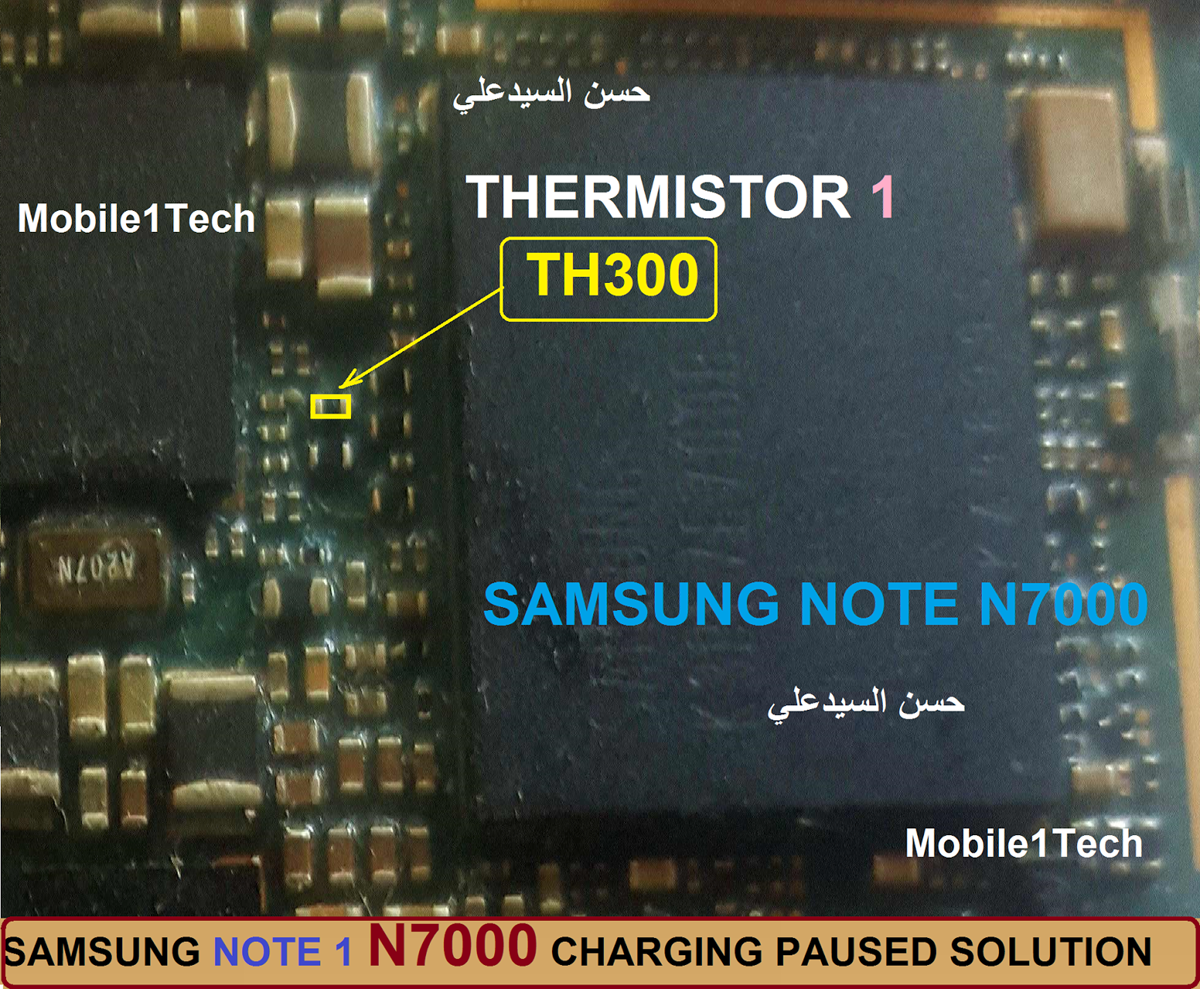 Samsung Galaxy Note N7000 Charging Paused Solution Jumpers Samsung