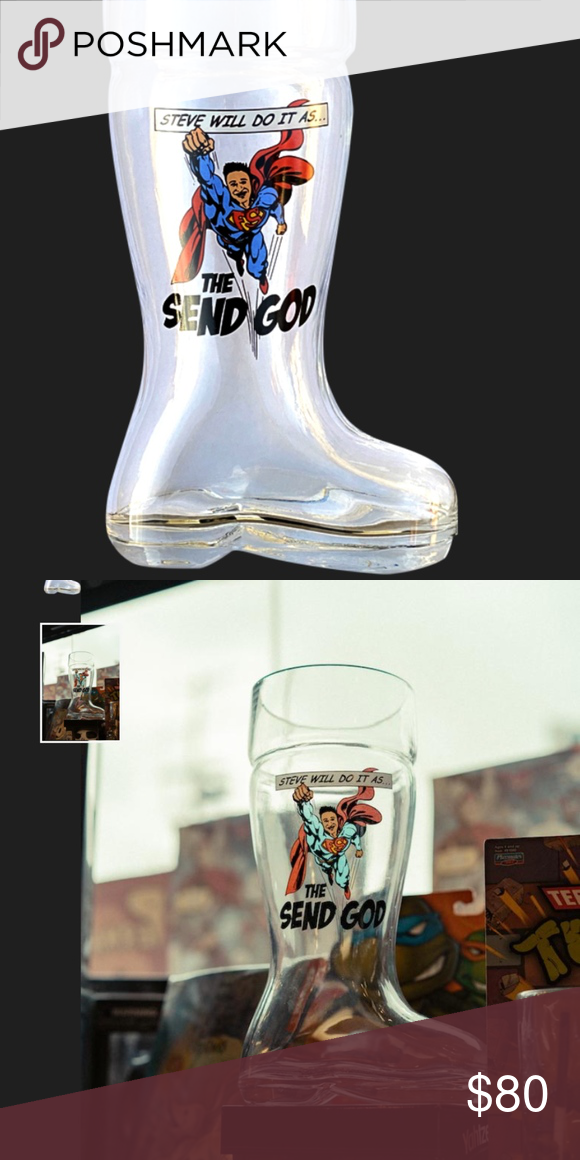 Steve Will Do It Glass Drinking Boot V2 Send God Steve Will Do It Glass Drinking Boot V2 Send God Nelk Boys Full Send Holiday Dr Boots Steve Things To Sell Please consume this collectible responsibly. steve will do it glass drinking boot v2