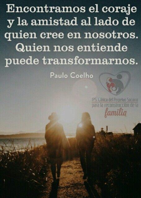 Feliz Dia De Amor Y Amistad Le Desea La Clinica Para La Reconstruccion De La Familia Inspirational Quotes Quotes Affirmations