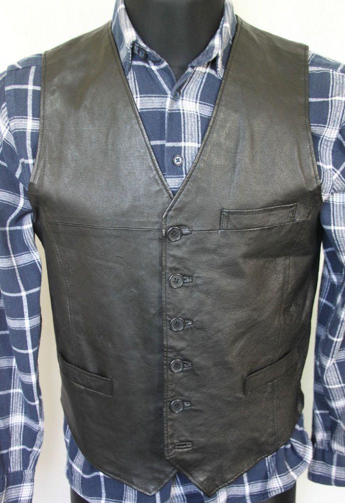 Vintage Leather Vests