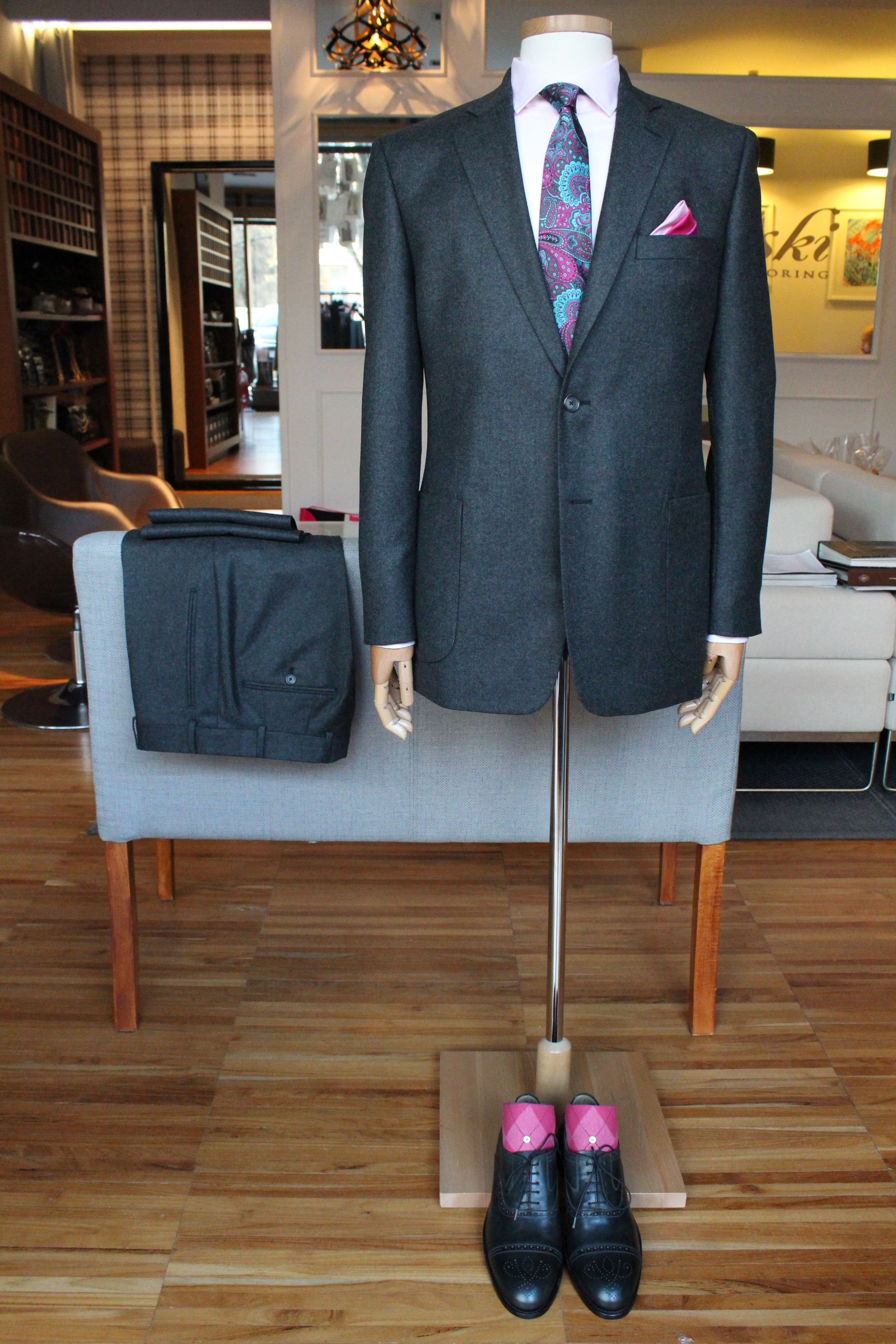 Wool cashmere flannel jacket  facebookmediasetsetuda