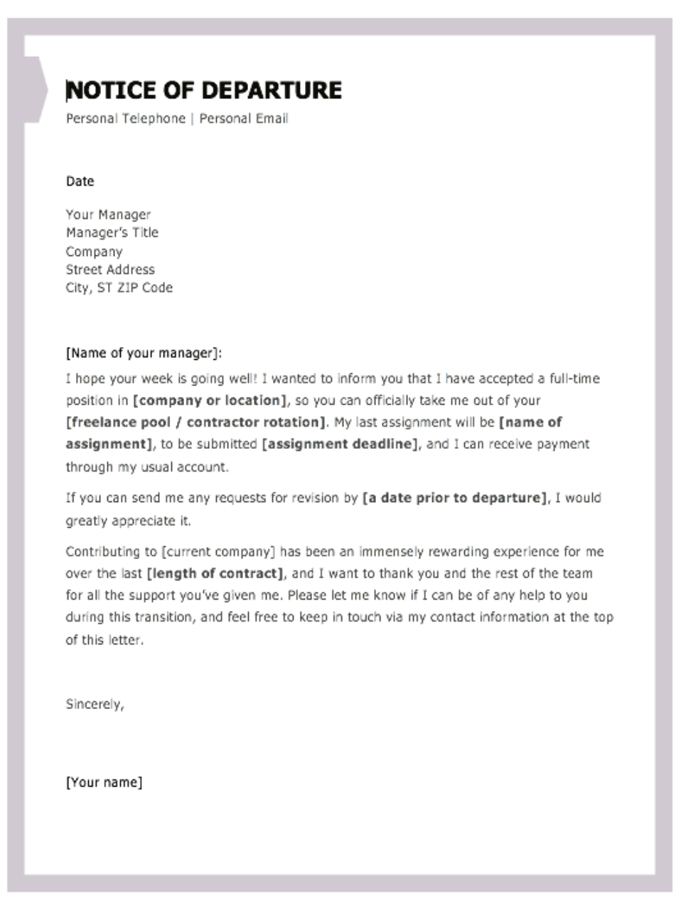 Writing A Letter Of Resignation Uk Examples. Feels free to
