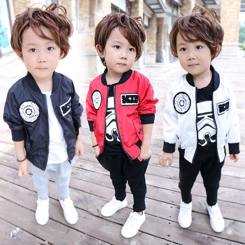 697f71248d3f Click to Buy    New fashion spring autumn Children s clothes boy ...