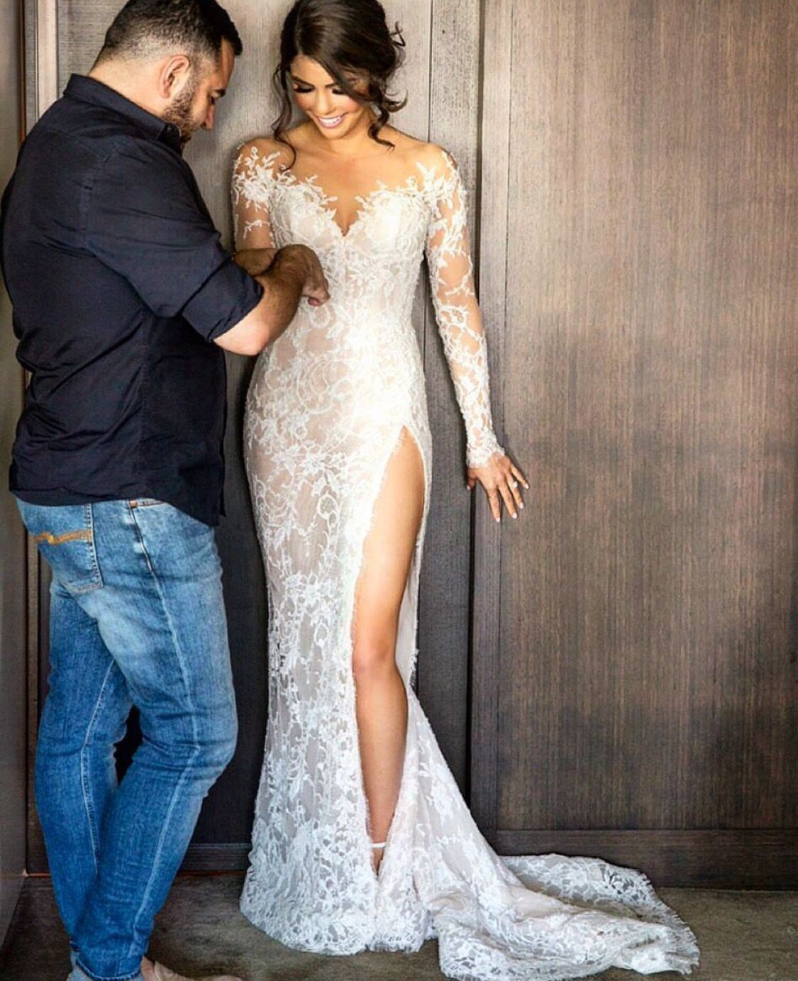 Steven khalil dress i did not know that something this for Steven khalil mermaid wedding dress