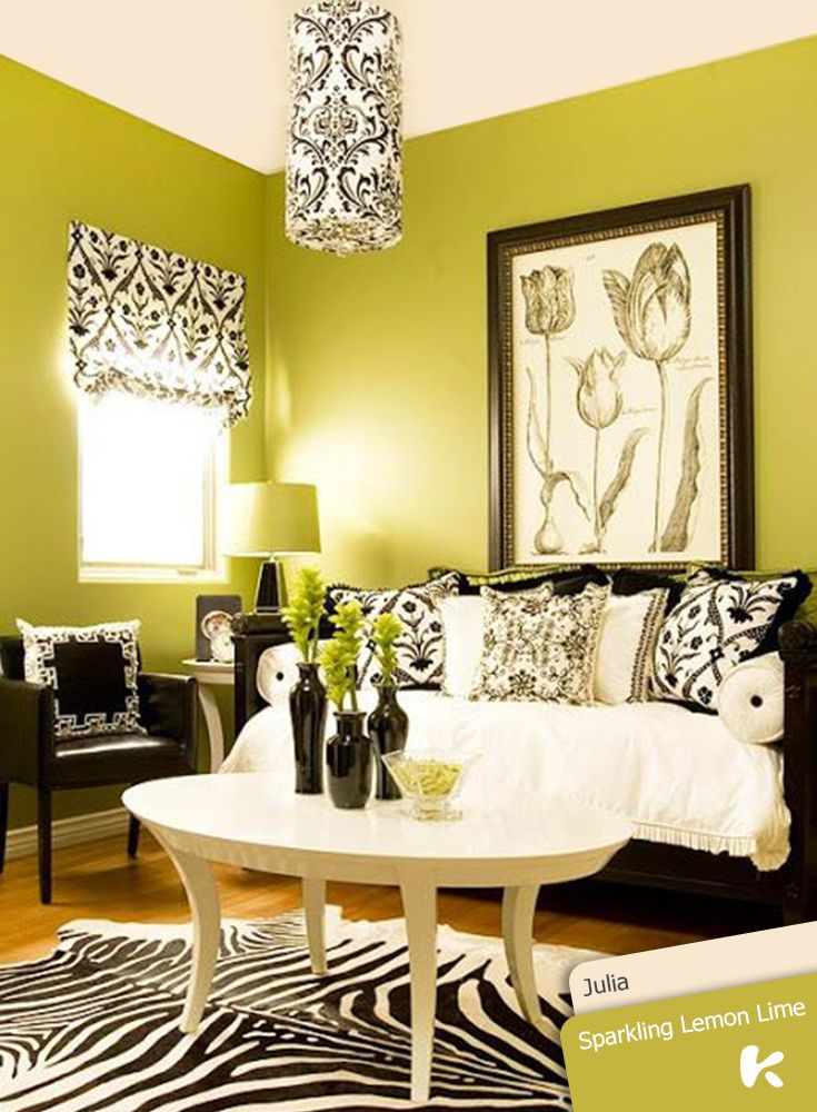 When diving in at the deep end with super bright hues such as lime ...