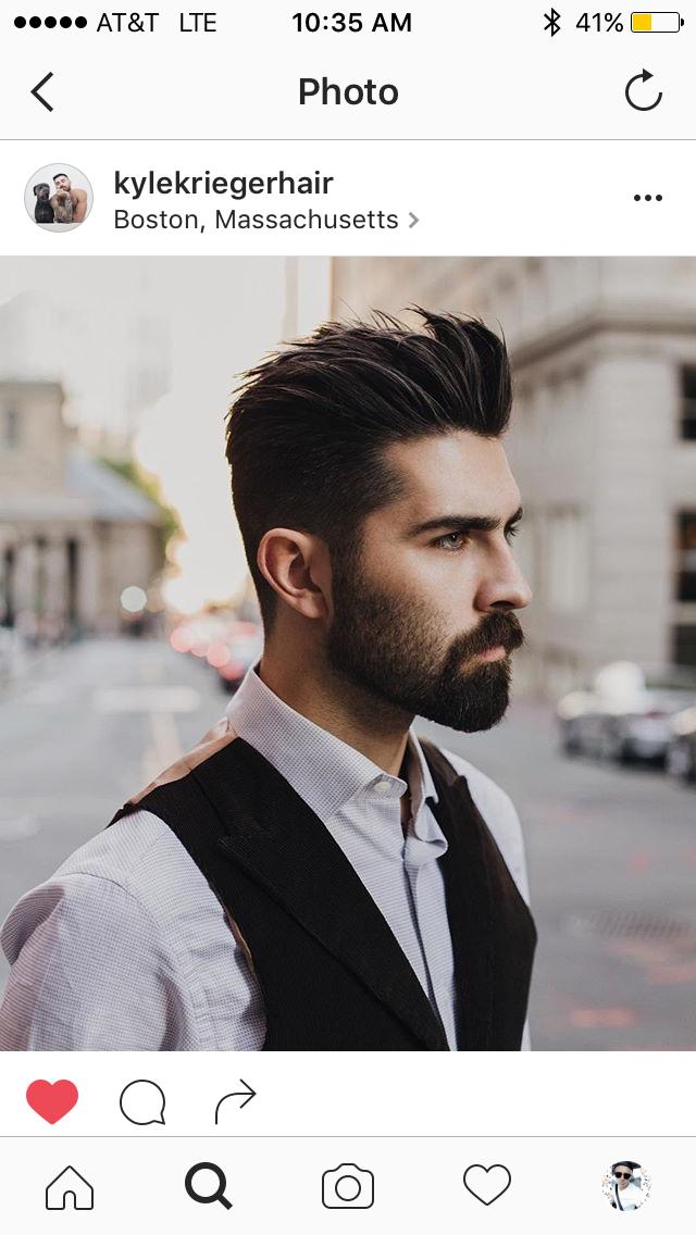 Pin By Ari Galeano Zambrano On Beards Pinterest Haircuts Men