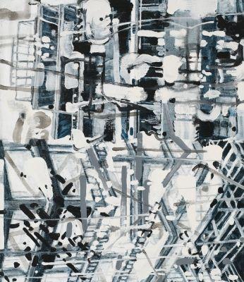 Peter Sullivan Construction Sites Abstract Artwork Artwork