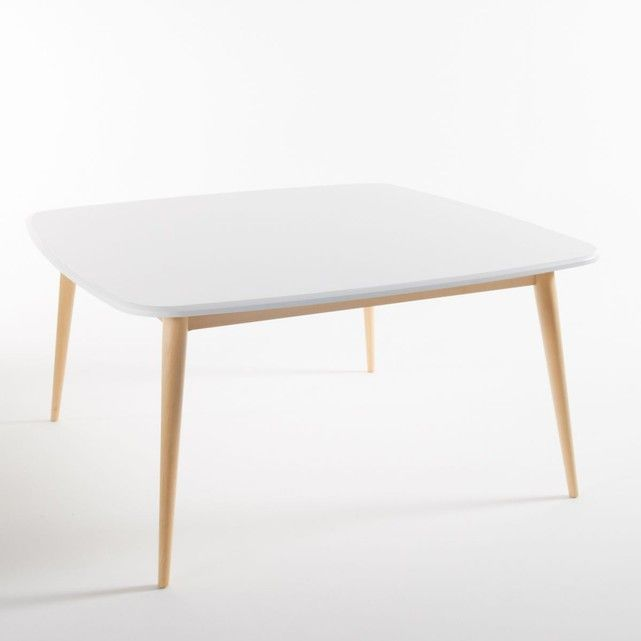 Table Carrée Personnes JIMI Tables Carrées La Redoute - Table carree 8 personnes pour idees de deco de cuisine