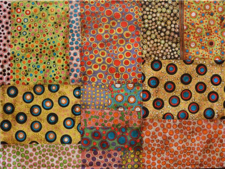 "Saatchi Art Artist Gustavo Ortiz; Collage, ""abstract"" #art"