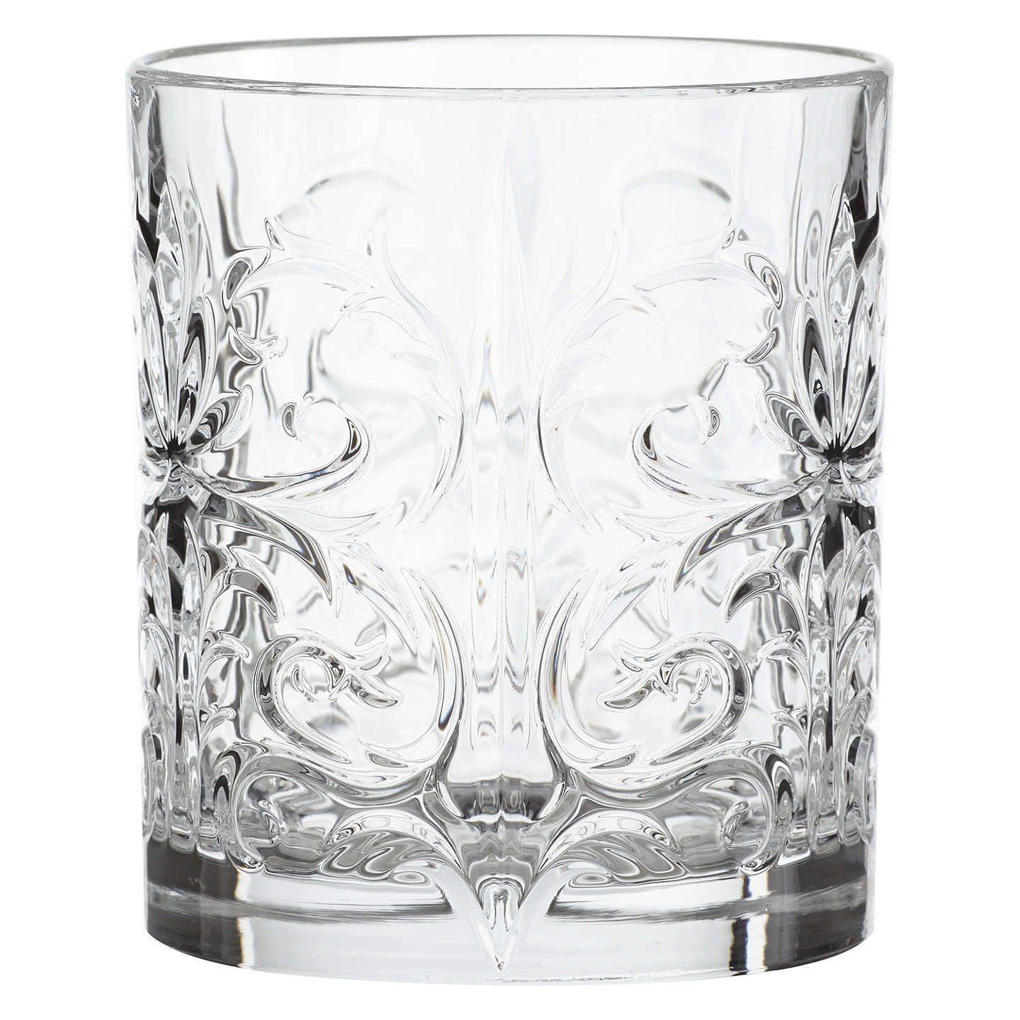 John Lewis & Partners Crystal Glass Cocktail Tumblers