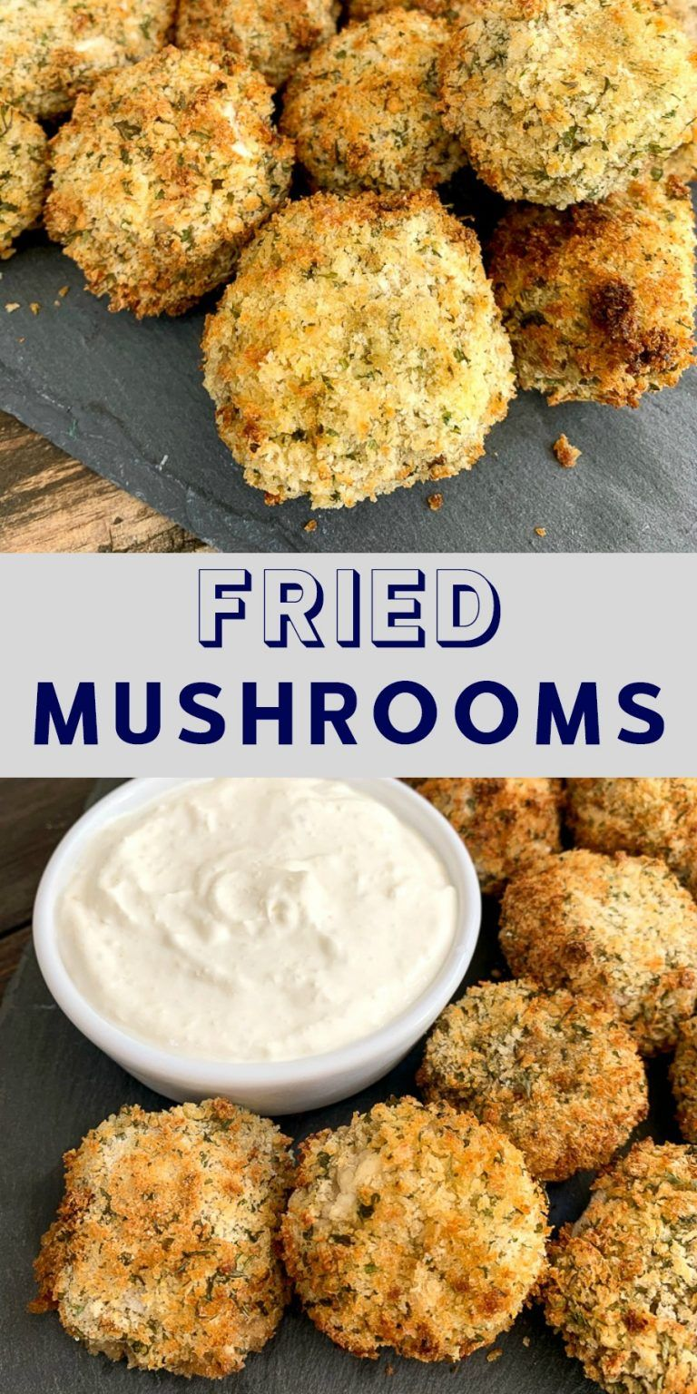 Fried mushroom recipe that's easy and delicious! Made in