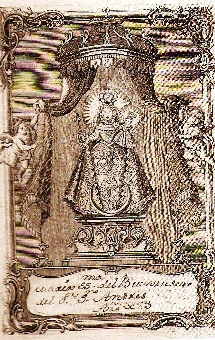 María Stma Del Buen Suceso Museo Casa De Los Tiros 1783 Técnicas De Grabado Grabado Museos
