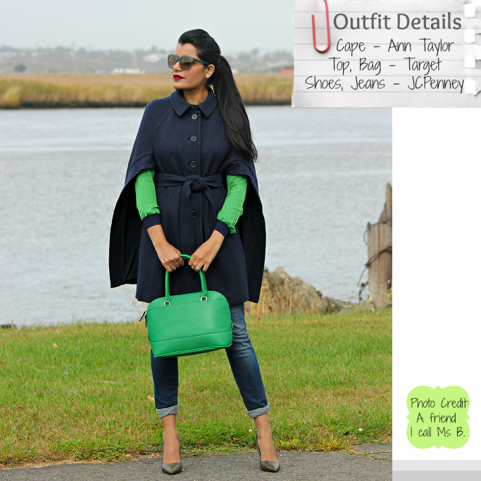 Ann Taylor Buttoned Up Boiled Wool Cape, Ann Taylor Cape, Capes For Winter, How To Wear A Cape
