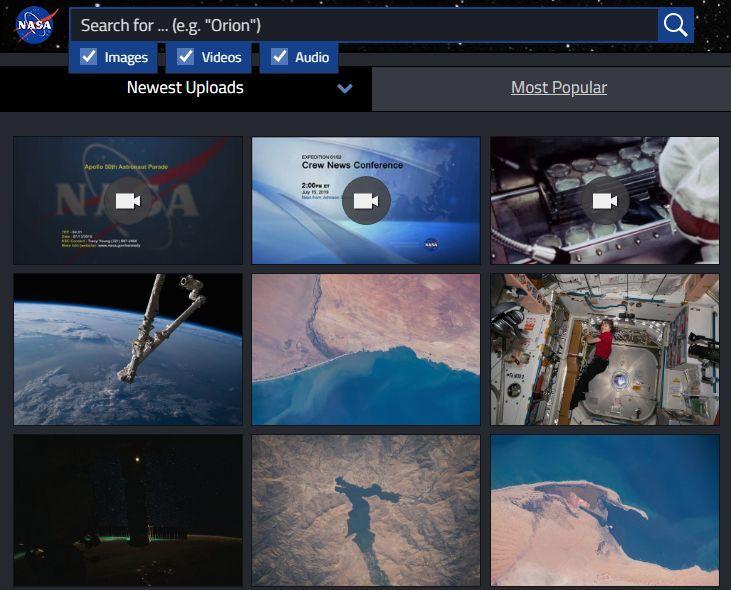 Nasa image and video library nasa images video library