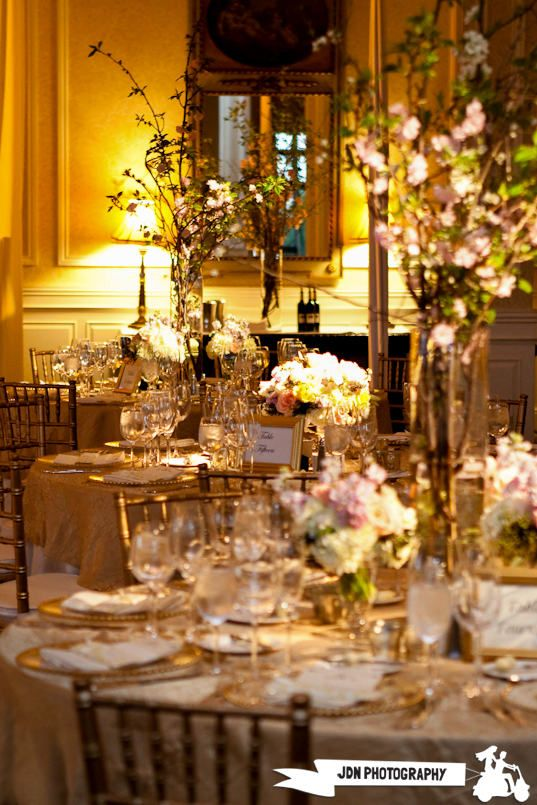Beautiful Blooms Garden Inspired Wedding Philadelphia Country Club
