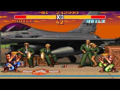 Street Fighter 2 - Guile Theme Soundtrack - SNES - YouTube