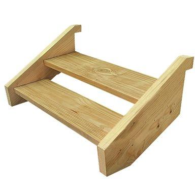Best Wilmaplex Treated Pine Ezistep 2 Step Stringer Kit Stair 400 x 300