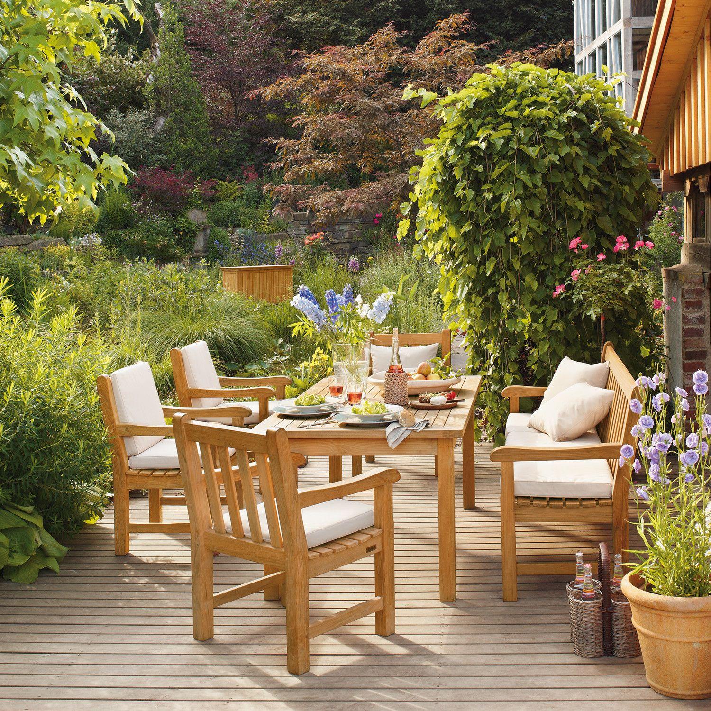 Cornwall Tisch 165 X 90 Garpa Aussenmobel Gartentisch Teak