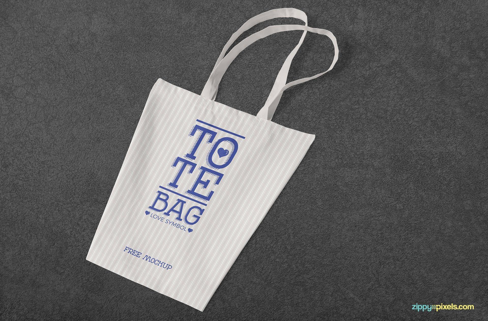Download Free Professional Cotton Bag Mockup Zippypixels Shopping Bag Design Bag Mockup Bags Designer