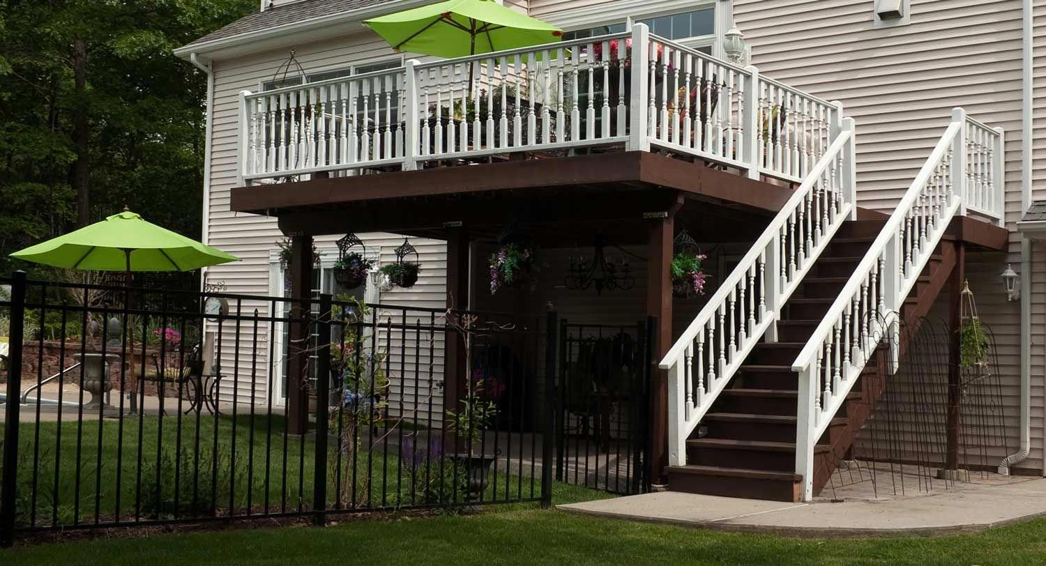 Cost To Add Deck Stairs 2020 Price Guide Building A Deck Deck Stairs Deck