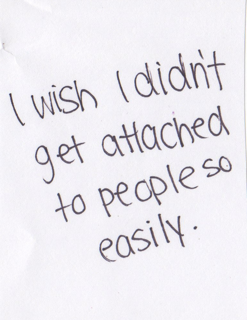 so true, then maybe it wouldn't hurt so much when they disappoint you
