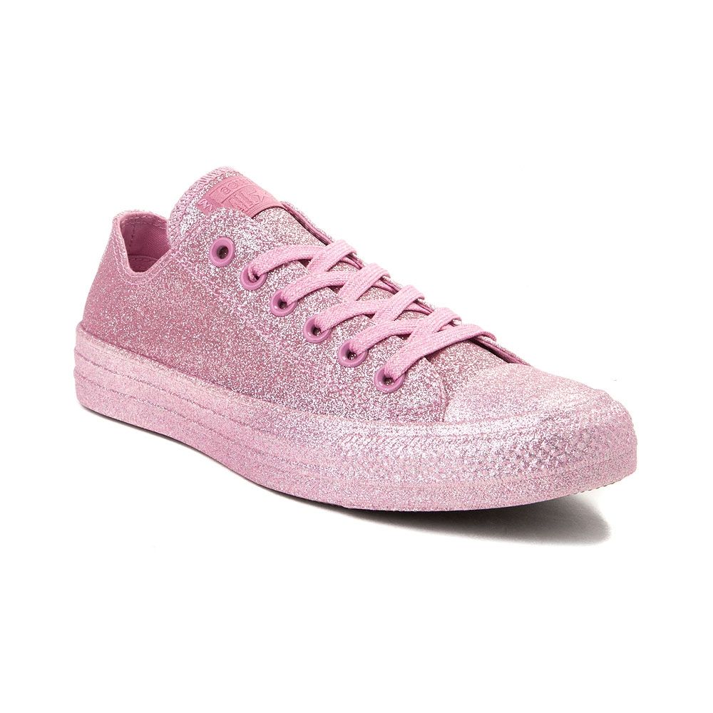 competitive price d8979 6cfe1 Converse Chuck Taylor All Star Lo Glitter Sneaker - Pink Monochrome - 399595