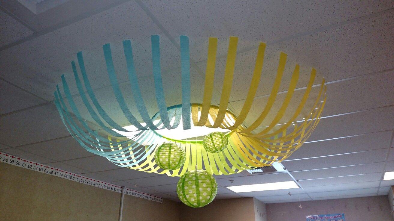 Classroom Ceiling Decor Classroom Ceiling Classroom Ceiling
