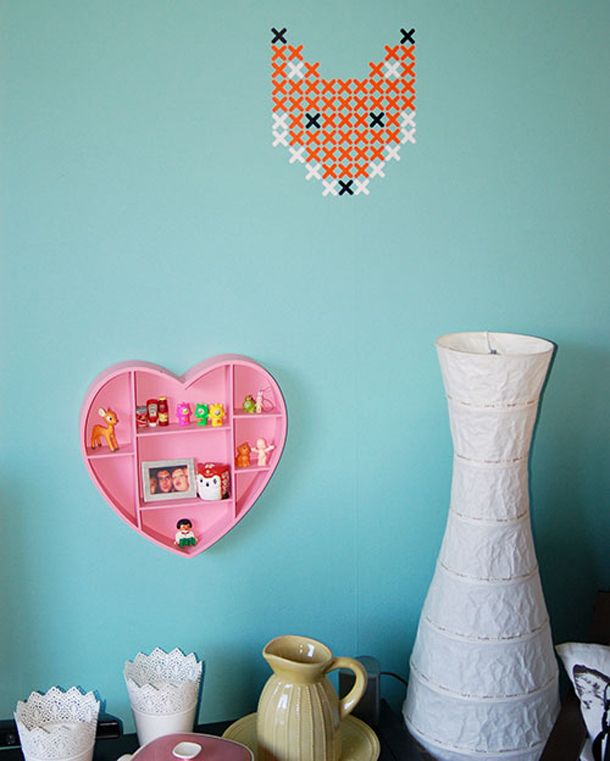Ontwerp je eigen muursticker met de kruisjes van plak 39 t for Ontwerp je eigen kamer