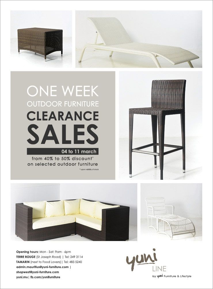 Yuni Outdoor Furniture Clearance Sales Tel 249 3114 483 5240
