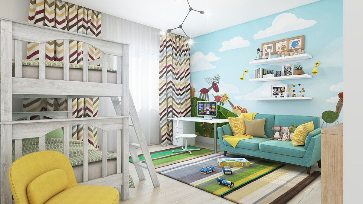 15 idées pour décorer les murs d\'une chambre d\'enfant