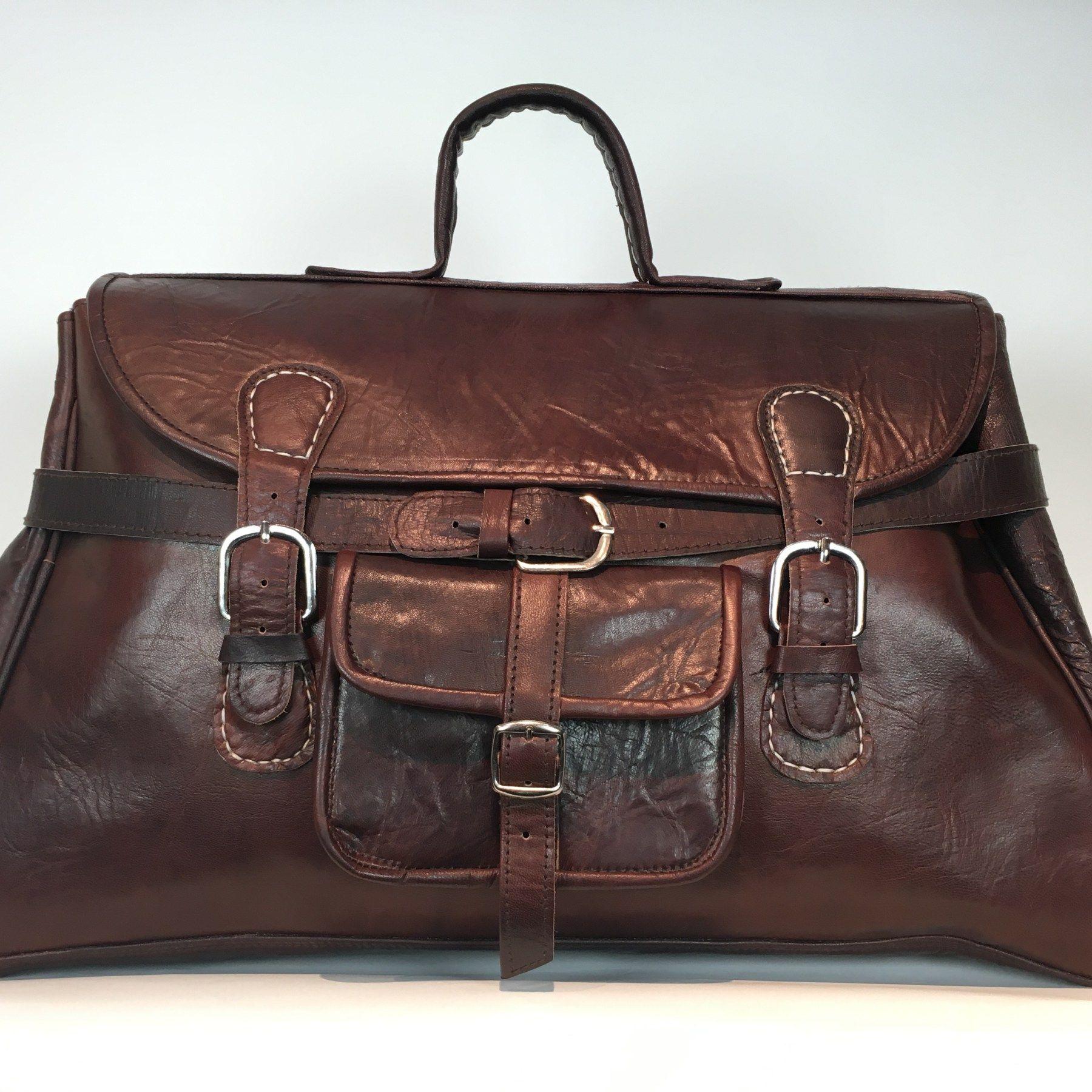247601f6184 Reel Leer | De Anytime bag. €139,- Bruin. Handgemaakte leren tas