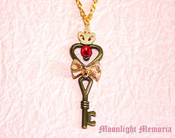 Sailor Moon collar inspirada en Sailor Moon por MoonlightMemoria
