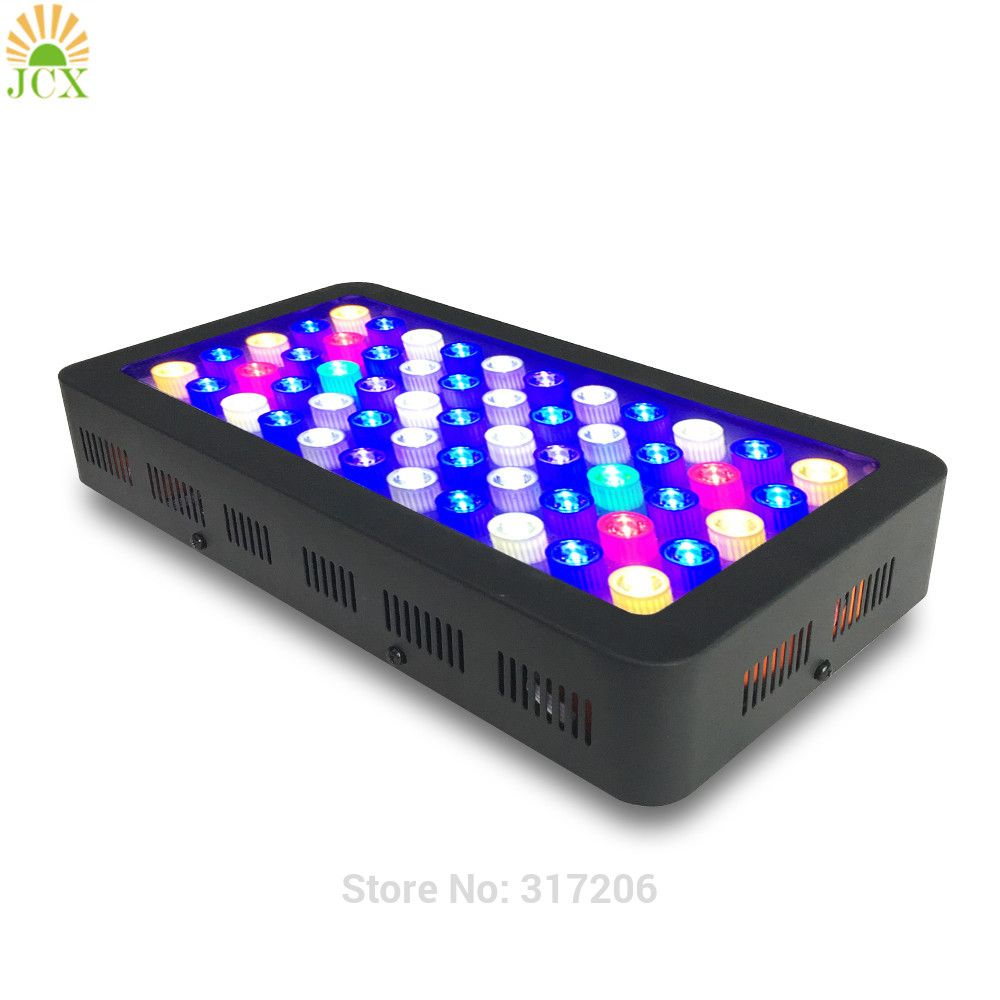 Dimmable Full spectrum led aquarium l& for coral reef aquarium led lighting best for Fish tanks Marine plants Growth  sc 1 st  Pinterest & Dimmable 165w Full spectrum led aquarium lamp for coral reef ... azcodes.com