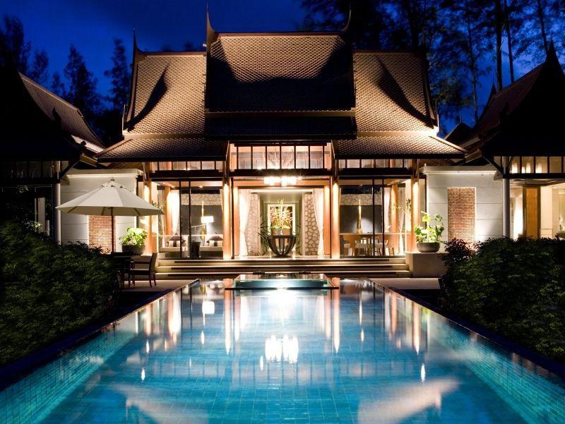 banyan tree phuket / thailand: villa mit garten und pool | total,