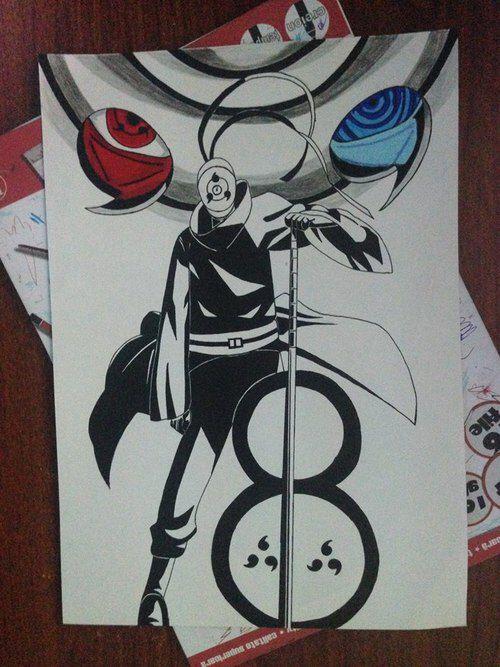 Tobi Obito La Misma Persona Y El Mismo Heroe Desenho De Anime