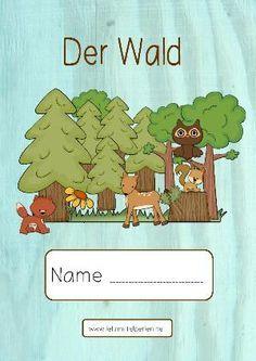 Der Wald Német Pinterest Kindergarten School Und Teaching