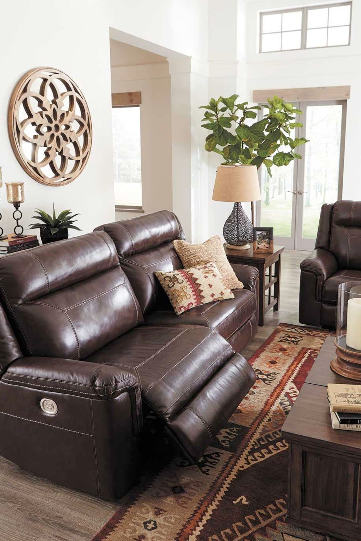 Wyline Leather Power Reclining Sofa The Wyline Leather Motion