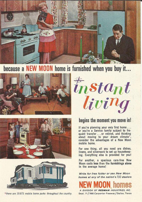 Redman vintage mobile homes