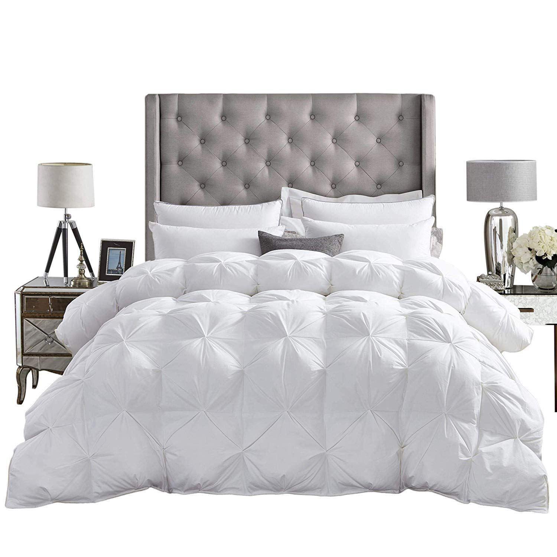 Luxurious AllSeason Goose Down Comforter Duvet Insert