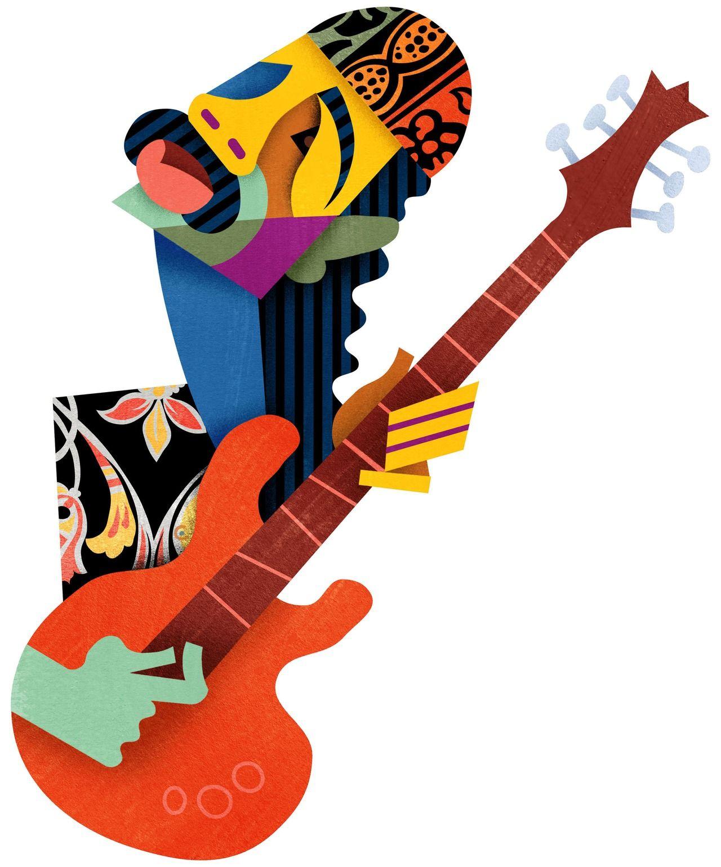 Carlos Santana ::davidcowlesillustrations::