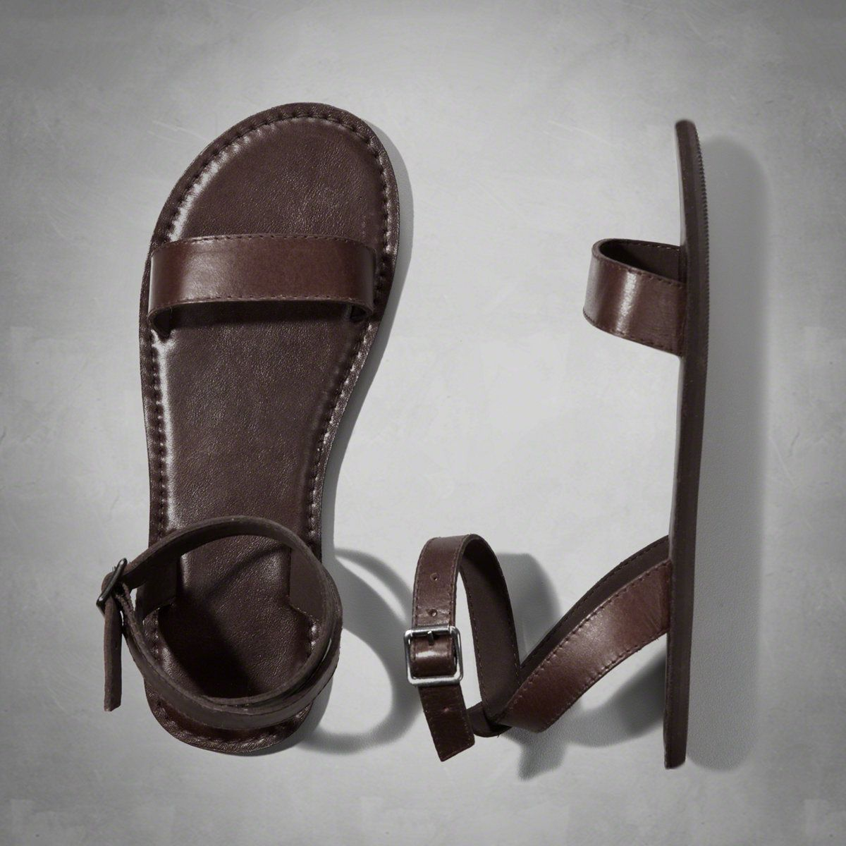 Womens Classic Leather Sandals | Womens Shoes | Abercrombie.com