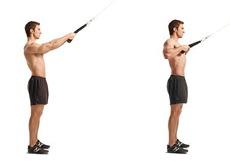 High Rows 3 Sets 15 Reps Monday Week 2 Cable Row Workout