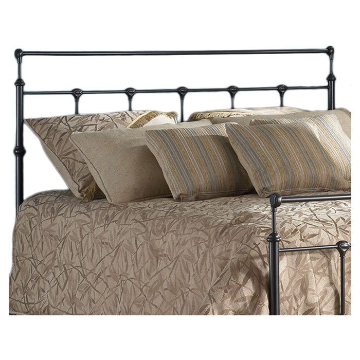 Torpoint Queen Panel Headboard Iron Headboard Bed Styling Bed