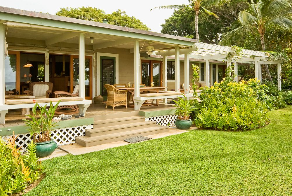 Hawaiian Cottage Style   Tropical   Porch   Hawaii   Fine Design Interiors,  Inc